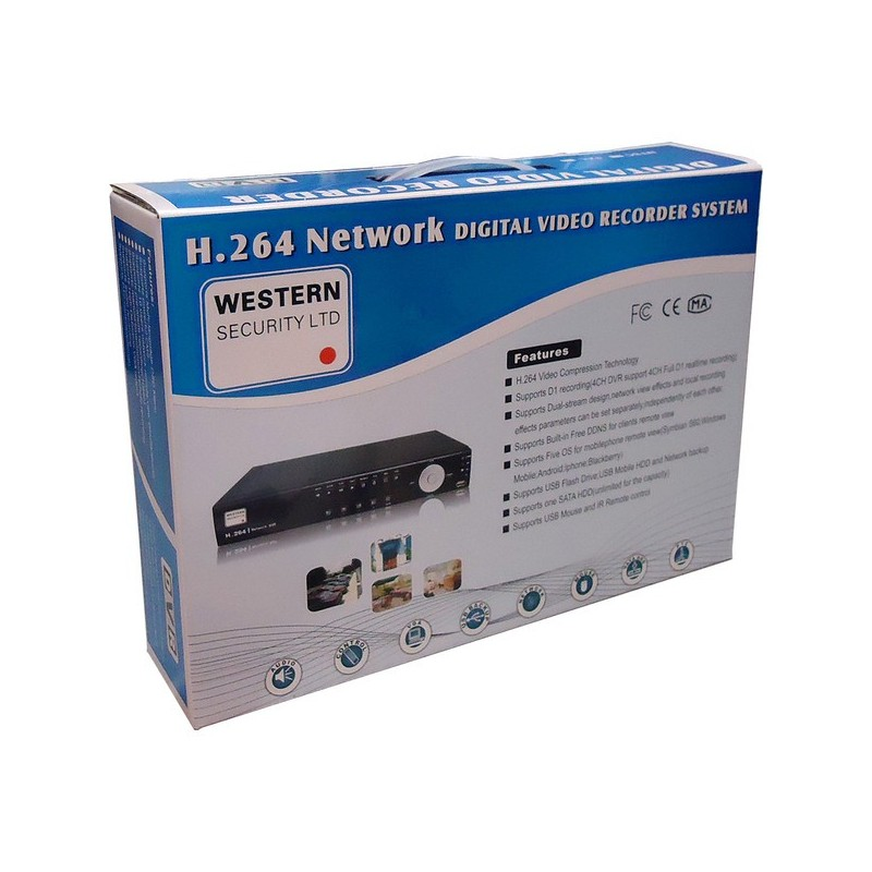 Western Security DVR-6304 HD